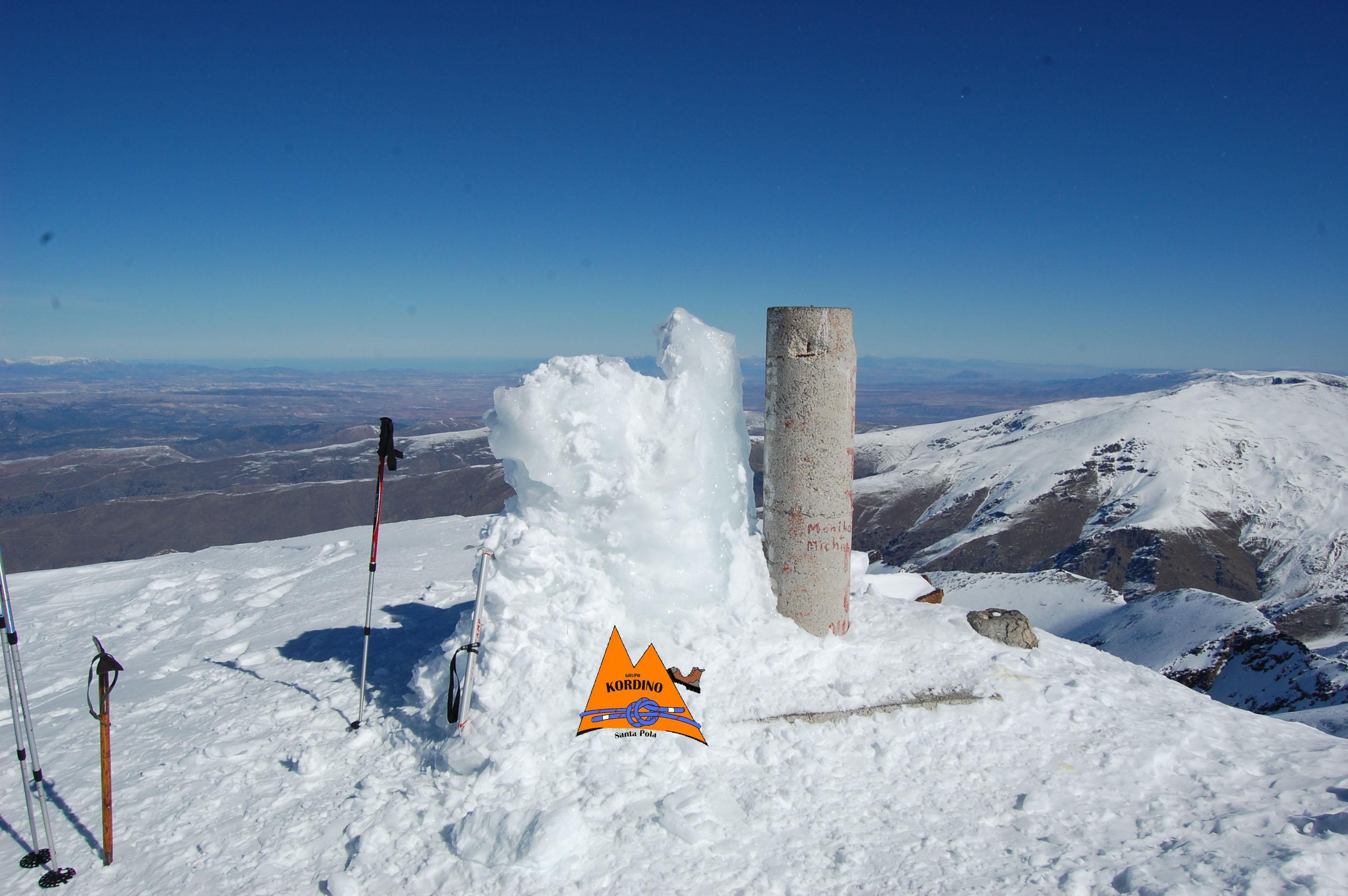 Veleta 3398 msnm