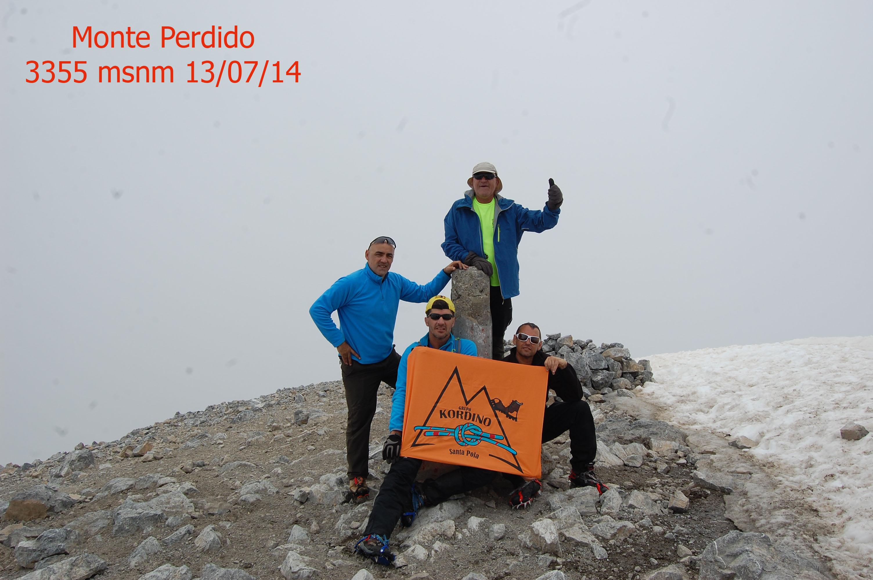 Monte Perdido 3355 msnm copia